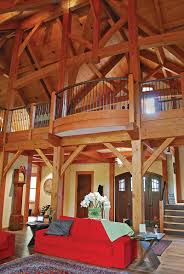 Timber Frame Timber Frame Home Interiors New Energy Works - Home interior frames