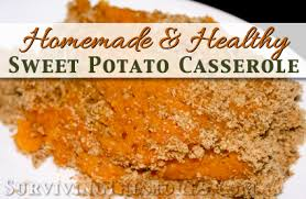 sweet potato casserole with crumb topping recipe