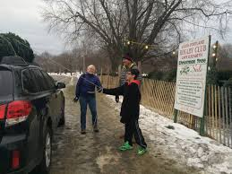 christmas tree sales support cape elizabeth south portland rotary