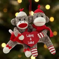 personalized sock monkey awwwwwww x