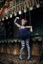 Circus Halloween Costumes Vintage Circus Puppeteer Circus Vintage