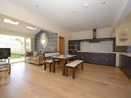 kitchen lounge open plan house design and plans