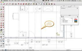 Interior Design Floor Plan Symbols by Sketchup Floor Plan Tutorial Doors And Windows