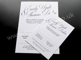 Wedding Invitation Printing Foil Printed Wedding Invitations And Stationery