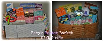 easter baskets for babies baby easter basket gift guide a spark of creativity