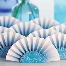 paper fan paper fan place card the knot shop