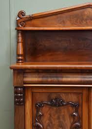 beautifully figured victorian mellow mahogany antique chiffonier