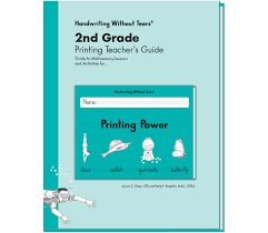 2nd grade printing teacher u0027s guide learning without tears
