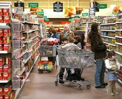 wal mart drives for more mass grocery business the boston globe