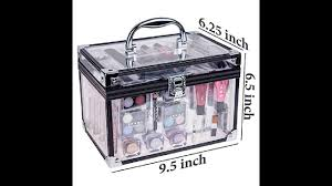 professional makeup trunk shany carry all trunk professional makeup kit eyeshadow pedicure