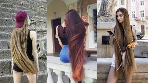 the most beautiful extremely long hair girls of instagram and