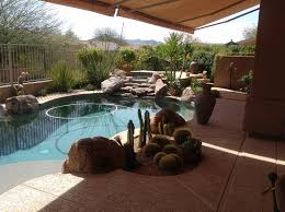 Small Outdoor Patio Ideas Scottsdale Pool Landscaping Or Patio Design Desert Crest Press