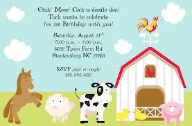 tips easy to create farm birthday invitations ideas invitations
