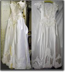 wedding dress restoration janet davis cleaners wedding dress cleaning preservation
