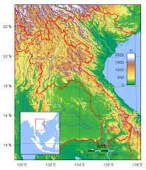 Map Of Cambodia Maps Of Laos Detailed Map Of Laos In English Tourist Map Of