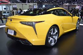 lexus 2017 lc500 lexus lc 500 rear three quarters at 2017 thai motor expo indian