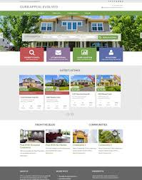 Free Real Estate Web Templates by 33 Real Estate Website Themes U0026 Templates Free U0026 Premium Templates