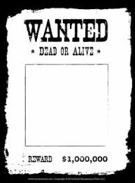 wanted poster template art u0026 crafts for kids pinterest