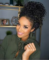 black bun hairstyles 8 easy updo hairstyles for black women hair fashion online