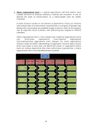 one organization organisation structure and relationship