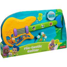 nickelodeon bubble guppies fin tastic guitar toy walmart com