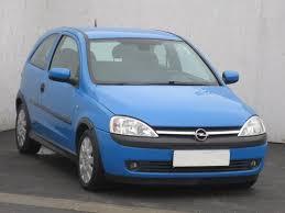 opel corsa 2004 blue opel corsa 1 4 autobazar aaa auto