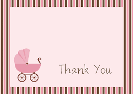 thank you baby shower cards thank you baby shower cards