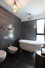 black and white bathroom accessories mirror celing lamp as well