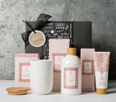 Pamper Gift Basket White Peony Pamper Box Gifts For Her Gift Basket Hamper