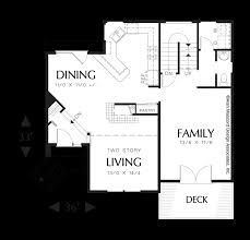 Multi Level Floor Plans Mascord House Plan 2113a The Everett
