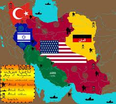 map iran iran map of occupation 2023 by iasonkeltenkreuzler on deviantart