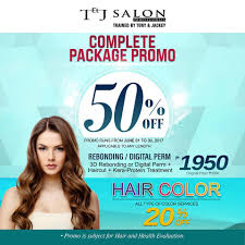 be beautiful with our newest promo this t u0026j salon
