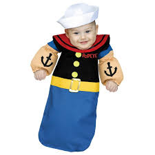 0 3 month baby boy halloween costumes popeye baby bunting buycostumes com