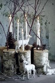 Christmas Reindeer Table Decor by