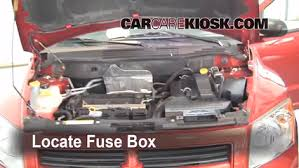 2007 Dodge Caliber Interior Blown Fuse Check 2007 2012 Dodge Caliber 2008 Dodge Caliber Se