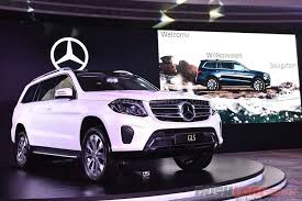 mercedes suv price india mercedes gls 7 seat luxury suv launch price inr 80 4 lakh