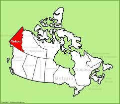 Map Of Quebec Canada by Yukon Maps Canada Maps Of Yukon Territory