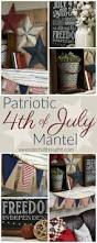 Flag Decorations For Home by Best 25 Patriotic Decorations Ideas On Pinterest Fourth Of July