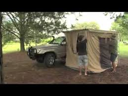 Awning Walls Powerful 4x4 Awning Tent Mp4 Youtube