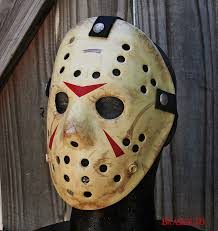 jason mask halloween part 3 jason voorhees hockey mask made by me by brasier76 on