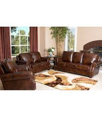 leather livingroom set living room sets brayden 3 leather set