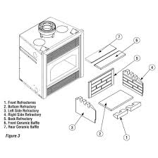 temco tlc36 3 wood burning fireplace parts parts and fireplace