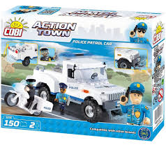 police jeep toy police patrol car action town cobi toys internet shop