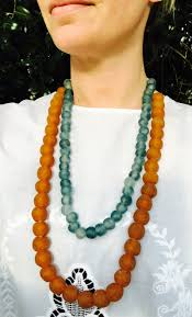 large bead necklace images Pagio jewelry designs trade bead necklaces jpg