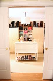 creating and organizing a dream walk in closet on a budget