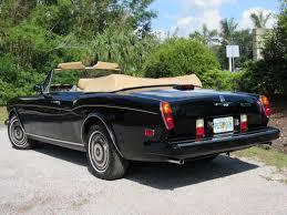 bentley corniche convertible 1986 rolls royce corniche vintage motors of sarasota inc