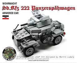 brickmania jeep instructions sd kfz 222 leichter panzerspähwagen warfare legos and lego ww2