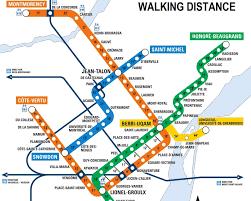 Montreal Underground City Map The Montreal