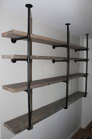 sylvie liv industrial rustic shelf tutorial
