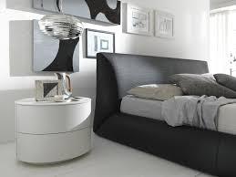 Malm Ikea Nightstand Bedroom Modern White Nightstands Ikea On Wooden Floor And Pendant